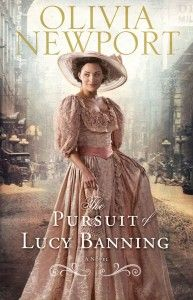 """""""The Pursuit of Lucy Banning"""" Book One in the Avenue of Dreams Series by Olivia Newport, Revell Books, May 2012. For sale in the Glessner House Museum Shop!"""