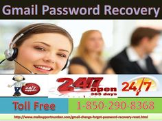 It is good choice to make a call at Gmail Password Recovery: +1-850-290-8368 to enjoy a trouble-free social media experience with your Gmail account. In addition, if you have any query about the service charges, then let us make it very clear that we charge a quite nominal rate in the exchange of service. We are also 24/7 available to assist you. For More Information Visit on My Website: http://www.mailsupportnumber.com/gmail-change-forgot-password-recovery-reset.html