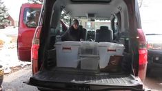 Honda Element Sleeping / Camping system