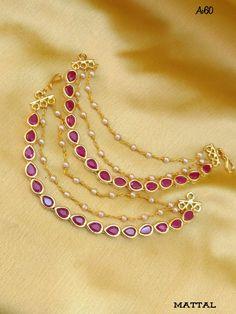 Jewellery Jewelry Design Earrings, Gold Jewellery Design, Necklace Designs, Gold Jewelry, Indian Wedding Jewelry, Bridal Jewelry, Gold Choker Necklace, Necklace Set, Jhumkas Earrings