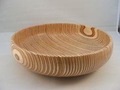 Turned Plywood Bowl