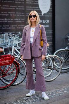 The chicest street style looks from Copenhagen Fashion Week Tine Andrea copenhagen fashion week Street Style Trends, Street Style Looks, Looks Style, Street Styles, Danish Street Style, Fashion Week 2018, Fashion Weeks, Fashion Outfits, Womens Fashion