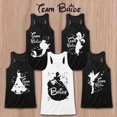 Disney bridal shirts! Choose your princess!