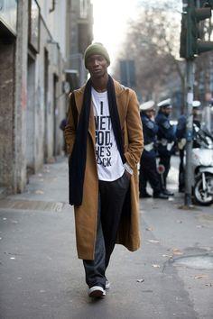 Adonis BossobyMelodie Jeng// Milan Fashion Week Fall/Winter 2015