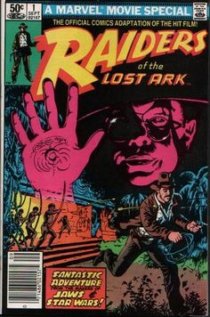 vintage raiders of the lost ark indiana jones comic - Google Search