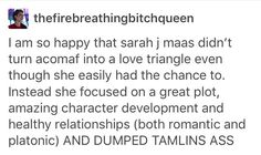 Forget the love triangle, let's just give Feyre an even more amazing guy!
