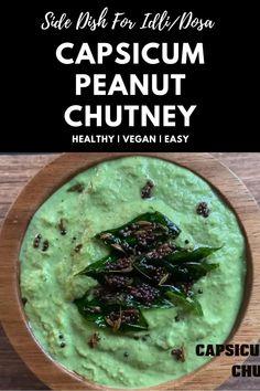 Healthy Veg Recipes, Indian Food Recipes, Vegetarian Recipes, Cooking Recipes, Spicy Recipes, Vegetable Recipes, Capsicum Recipes, Chutney Recipes, Tasty Videos