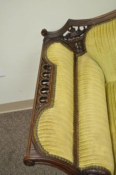 Mahogany Chinese Chippendale Transitional Swan and Serpent Carved Sofa – Sofa Design 2020 Italian Furniture Design, Unique Furniture, Luxury Furniture, Vintage Furniture, Furniture Ideas, Sofa Set Designs, Sofa Design, Studio Furniture, Sofa Furniture