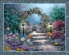 Heavens Gate Pictures, Images and Photos Gate Images, Gate Pictures, Pictures Images, Bing Images, Garden Gates, Garden Art, Penny Parker, Heaven's Gate, Thomas Kinkade