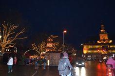 Direkt beim Rathaus und am Delft befindet sich der Weihnachtsmarkt in Emden.