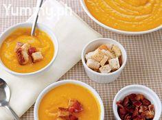 Creamy Kalabasa Soup Recipe
