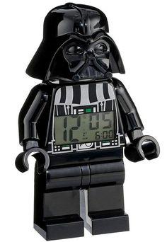 """Luke, it's time to wake up!"" -- Lego Star Wars alarm clock"
