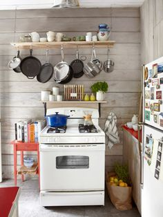 For a small kitchen with skimpy storage