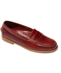 f33a1f2938e Signature Handsewn Leather Loafer Leather Loafers