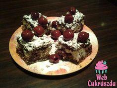 Sodrott rétestészta-kezdő háziasszonyoknak (is) Hungarian Cake, Hungarian Recipes, Hungarian Food, Cupcake Cakes, Cupcakes, Deserts, Pudding, Hungarian Cuisine, Postres