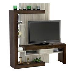 Me gustó este producto Mica Rack 55 Tv Unit Decor, Tv Wall Decor, Tv Cabinet Design, Tv Wall Design, Tv Wall Cabinets, Modern Tv Wall Units, Entertainment Wall Units, Tv Unit Furniture, Wooden Tv Stands