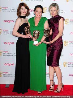 Yep...more Broadie Fun at BAFTA's with the Winning Ladies! #WellDoneGuys