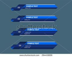 stock-vector-blue-lower-third-banners-294419009.jpg (450×362)