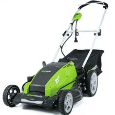 Electric Lawn Mower Corded Greenworks 13 Amp Rear Bag Mulch or Side Disc Gas Lawn Mower, Lawn Mower Tractor, Riding Lawn Mowers, Lawn Tractors, Garden Tool Bag, Garden Tools, Plant Theatre, Cordless Lawn Mower, Walk Behind Lawn Mower