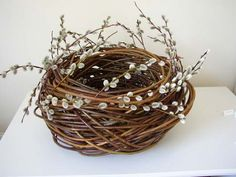 Willow basket, Lizzie Farey