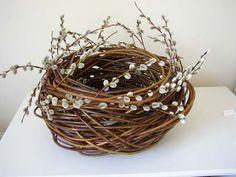 Willow basket, Lizzie Farey