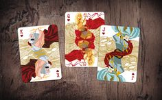 MYTHICAL / collectible playing cards / 2-week campaign by Jumperound — Kickstarter