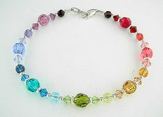 Swarovski Crystal Bracelet   Austrian Crystal by StemsAndPieces, $29.00