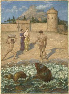 Hercules, Hans Thoma, Caspar David Friedrich, Expressionist Artists, Photos Du, Belle Photo, Oeuvre D'art, Time Travel, Impressionist