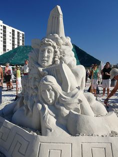 Ft. Myers Beach Sand Art 218 by Rick Shackletons Photographic Adventures, via Flickr