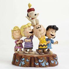 Jim Shore Peanuts Collection 65th Anniversary 4044685 NIB 2015