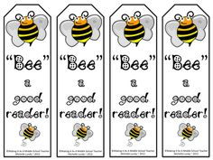 "Classroom Freebies Too: Bookmarks: ""Bee"" a Good Reader! for Karen: Team Bees :) Classroom Freebies, Classroom Themes, Classroom Organization, Classroom Resources, Middle School Teachers, Beginning Of School, Cute Bookmarks, Printable Bookmarks, Free Printable"