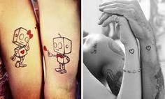 tatuagens q se completam - Pesquisa Google