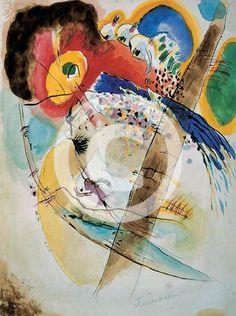 "Wassily Kandinsky - ""Exotic Birds"", 1915"