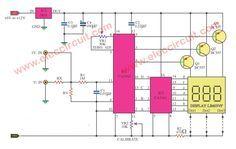 digital voltmeter circuit diagram using icl7107 7106 with simple digital voltmeter circuit diagram digital multimeter circuit using icl7107