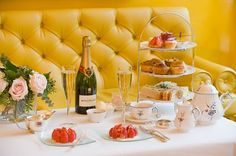 Afternoon Tea at the Dorchester Hotel, London