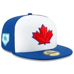 Take your Toronto Blue Jays style to the next level by grabbing this New Era 2019 Spring Training Fitted Hat to wear on the next big game day. New Era Cap, Spring Training, Ml B, Toronto Blue Jays, Big Game, Hats For Men, Fabric, Stuff To Buy, Sports Teams
