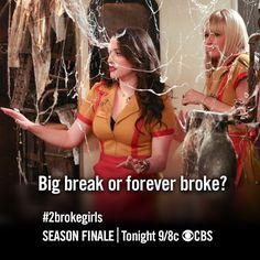 2 Broke Girls #2brokegirls : Season 2, Episode 24 (Finale) - And the Window of Opportunity