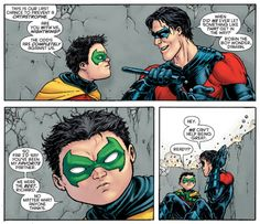 R.I.P. Damian Wayne -- Damian & Grayson WERE the best Batman & Robin ever. No matter WHAT anyone thinks.