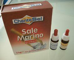 Sali da bagno fai da te mezzo chilo sale grosso 30 gocce olio essenziale