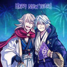 Robin & Corrin in Happy New Year!