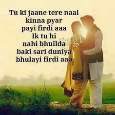 123 Best love quotes images   Love quotes, Quotes, Punjabi ...