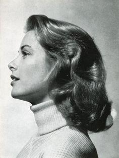 Grace Kelly by Philippe Halsman. 1953