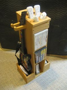 Very cool Wii storage tower