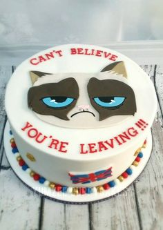 grumpy cat cake                                                                                                                                                                                 More