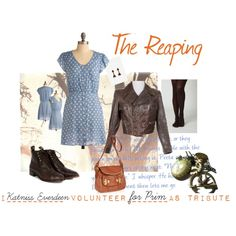A Hunger Games inspired outfit. The Reaping #Hunger #Games