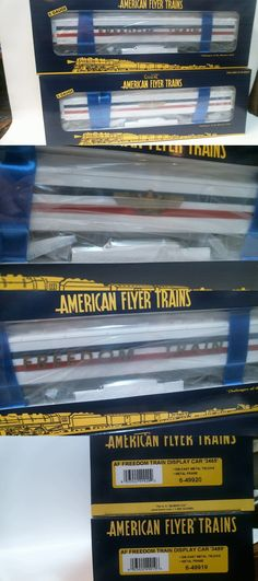 Passenger Cars 180282: American Flyer Freedom Train Passenger Cars 2-Pack Mib S-Scale -> BUY IT NOW ONLY: $129 on eBay!