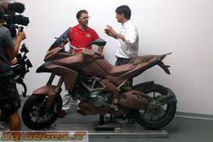 Ducati Multistrada 1200 Clay model