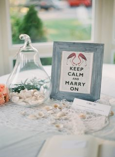 """keep calm and marry on"" // photo by LauraIvanova.com"