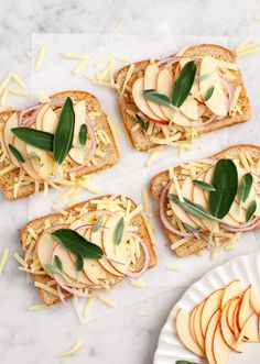 Apple Sage Grilled Cheese