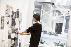 Nili Lotan, studio, Tribeca, New York City, fashion design / Garance Doré